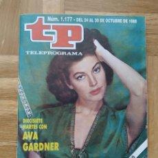 Coleccionismo de Revista Teleprograma: REVISTA TP TELEPROGRAMA 1177. AVA GARDNER. ISABEL PANTOJA. IMANOL ARIAS. EL RESPLANDOR. VER. Lote 261969485