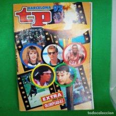 Coleccionismo de Revista Teleprograma: REVISTA TP SUPLEMENTO L N° 1372 BARCELONA 92. Lote 263118160