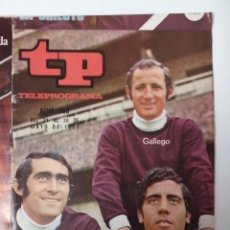 Coleccionismo de Revista Teleprograma: REVISTA TP TELEPROGRAMA Nº 268 MAYO 1971 PIRRI GALLEGO CLARAMUNT RUSIA ESPAÑA. Lote 266454203
