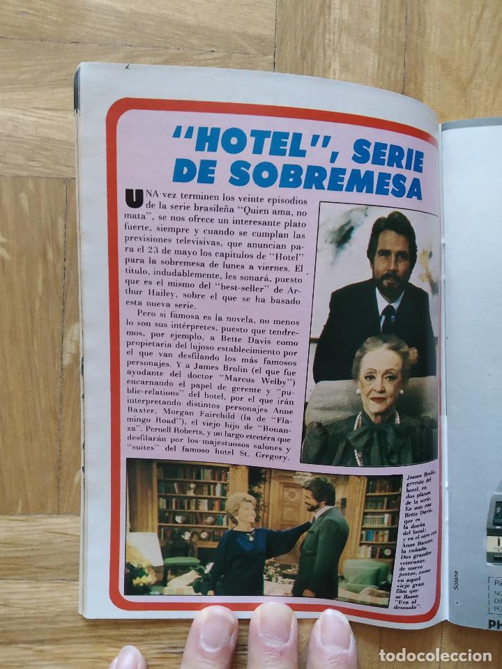 Coleccionismo de Revista Teleprograma: REVISTA TP TELEPROGRAMA 944. EL PIRATA FRANCO NERO. EL RETORNO DEL JEDI. MOTO VESPA. HOTEL - Foto 3 - 268952439