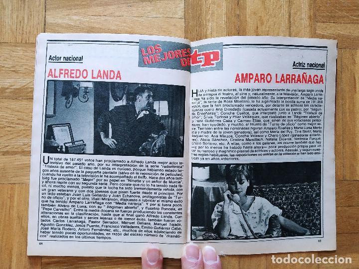 Coleccionismo de Revista Teleprograma: REVISTA TP TELEPROGRAMA 1091 ALASKA LA BOLA DE CRISTAL ALFREDO LANDA AMPARO LARRAÑAGA MACARIO MILA - Foto 3 - 268953279