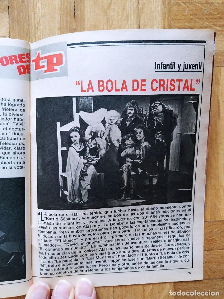 Coleccionismo de Revista Teleprograma: REVISTA TP TELEPROGRAMA 1091 ALASKA LA BOLA DE CRISTAL ALFREDO LANDA AMPARO LARRAÑAGA MACARIO MILA - Foto 5 - 268953279