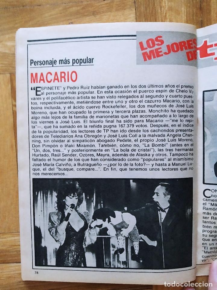Coleccionismo de Revista Teleprograma: REVISTA TP TELEPROGRAMA 1091 ALASKA LA BOLA DE CRISTAL ALFREDO LANDA AMPARO LARRAÑAGA MACARIO MILA - Foto 7 - 268953279