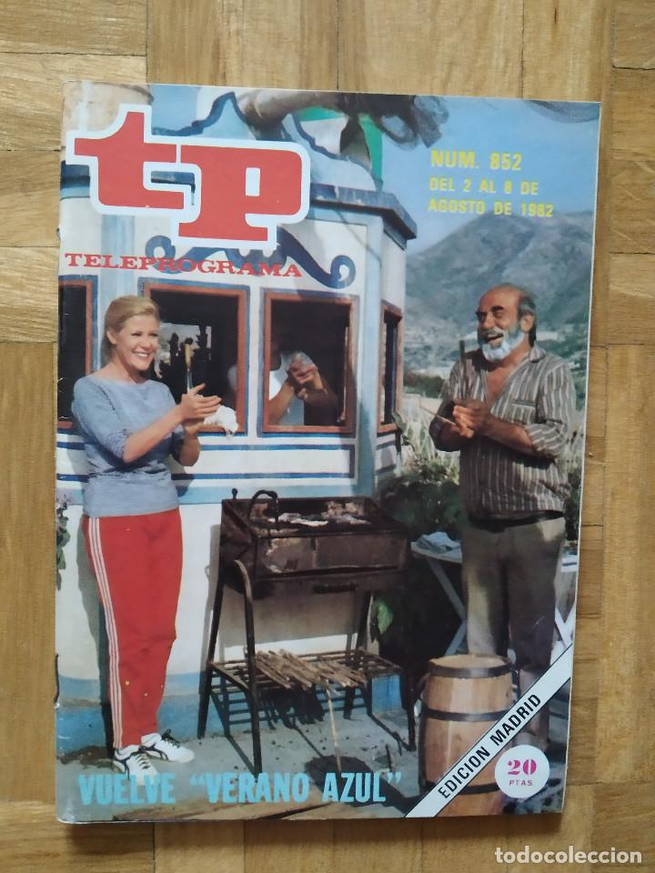 REVISTA TP TELEPROGRAMA 852. VUELVE VERANO AZUL. MARILYN MONROE (Coleccionismo - Revistas y Periódicos Modernos (a partir de 1.940) - Revista TP ( Teleprograma ))