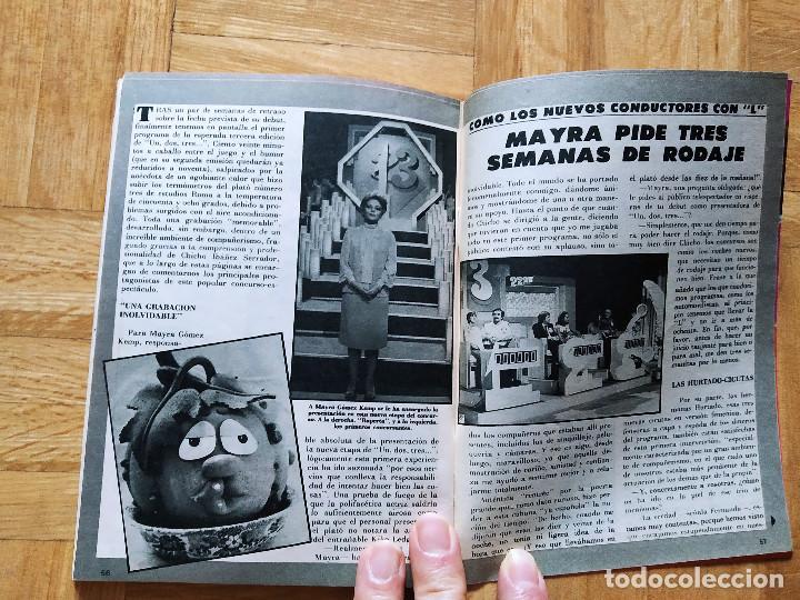 Coleccionismo de Revista Teleprograma: REVISTA TP TELEPROGRAMA 855 UN, DOS, TRES. HERMANAS TACAÑONAS.MAYRA. RAUL SENDER BEATRIZ CARVAJAL - Foto 3 - 269044553