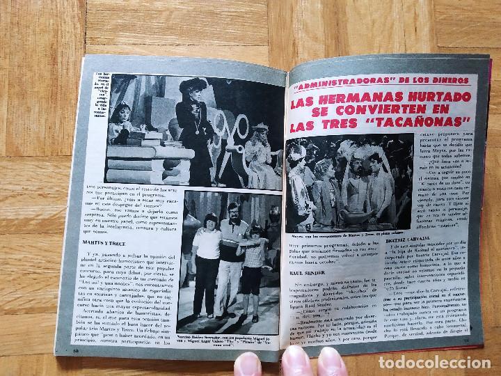 Coleccionismo de Revista Teleprograma: REVISTA TP TELEPROGRAMA 855 UN, DOS, TRES. HERMANAS TACAÑONAS.MAYRA. RAUL SENDER BEATRIZ CARVAJAL - Foto 4 - 269044553