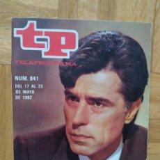 Coleccionismo de Revista Teleprograma: REVISTA TP TELEPROGRAMA 841. PEPE SANCHO. JESUS HERMIDA. VER FOTOS. Lote 269045103