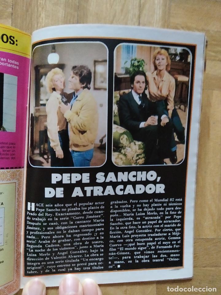 Coleccionismo de Revista Teleprograma: REVISTA TP TELEPROGRAMA 841. PEPE SANCHO. JESUS HERMIDA. VER FOTOS - Foto 2 - 269045103