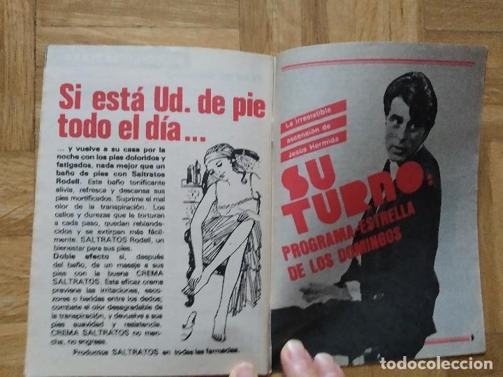 Coleccionismo de Revista Teleprograma: REVISTA TP TELEPROGRAMA 841. PEPE SANCHO. JESUS HERMIDA. VER FOTOS - Foto 3 - 269045103