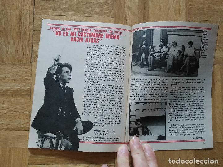 Coleccionismo de Revista Teleprograma: REVISTA TP TELEPROGRAMA 841. PEPE SANCHO. JESUS HERMIDA. VER FOTOS - Foto 5 - 269045103
