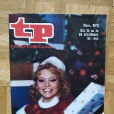 Coleccionismo de Revista Teleprograma: REVISTA TP TELEPROGRAMA UN, DOS, TRES. MAYRA GOMEZ KEMP CHICHO IBAÑEZ SERRADOR TERESA RABAL MARADONA. Lote 269045773