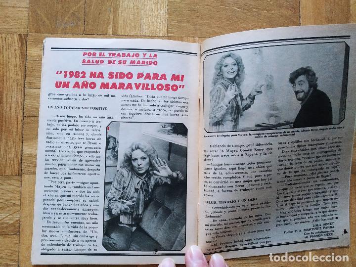 Coleccionismo de Revista Teleprograma: REVISTA TP TELEPROGRAMA UN, DOS, TRES. MAYRA GOMEZ KEMP CHICHO IBAÑEZ SERRADOR TERESA RABAL MARADONA - Foto 4 - 269045773