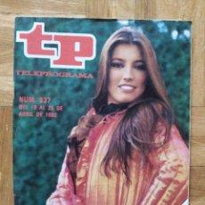Coleccionismo de Revista Teleprograma: REVISTA TP TELEPROGRAMA 837 CAMILO SEXTO. LUCIA EN EUROVISION. VER FOTOS. Lote 269046423
