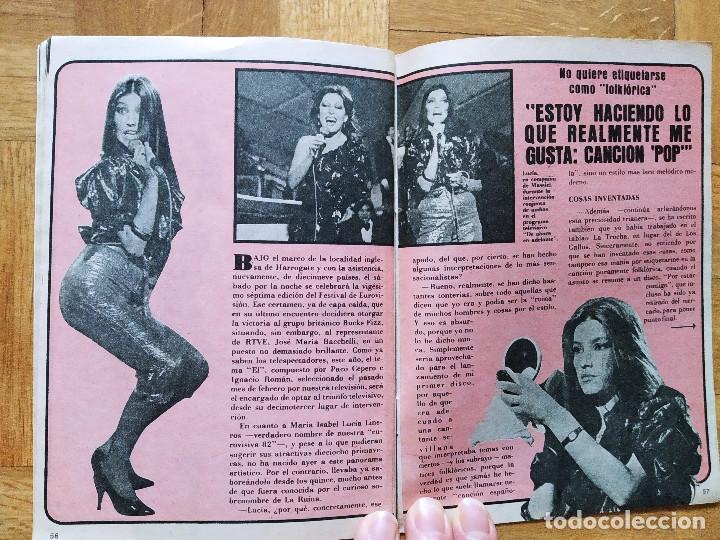 Coleccionismo de Revista Teleprograma: REVISTA TP TELEPROGRAMA 837 CAMILO SEXTO. LUCIA EN EUROVISION. VER FOTOS - Foto 4 - 269046423