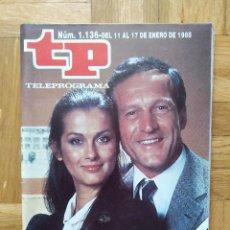 Coleccionismo de Revista Teleprograma: REVISTA TP TELEPROGRAMA 1136 CANCION TRISTE.. AMPARO LARRAÑAGA MIGUEL BOSE VIERNES 13 ANDRES PAJARES. Lote 269339688