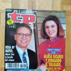 Coleccionismo de Revista Teleprograma: REVISTA TP TELEPROGRAMA 1403 ROSA Mª MATEO MARIA ESCALARIO FERNANDO DELGADO RAFAELLA CARRA CONCHA VE. Lote 269341328
