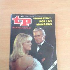 Collectionnisme de Magazine Teleprograma: TP NÚM. 1032 AÑO 1986 DINASTIA POR LAS MAÑANAS. Lote 271948948