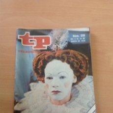 Collectionnisme de Magazine Teleprograma: TP NÚM. 518 AÑO 1976 ELIZABETH REINA. Lote 271966113