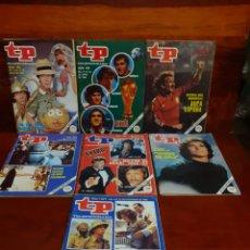 Coleccionismo de Revista Teleprograma: LOTE DE 7 REVISTAS TP TELEPROGRAMA. AÑOS 80. TODAS FOTOGRAFIADAS.. Lote 275561728