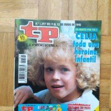 Coleccionismo de Revista Teleprograma: REVISTA TP TELEPROGRAMA 1397. MAYRA GOMEZ KEMP. WHOOPI GOLDBERG. CELIA. Lote 275604343