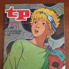 Coleccionismo de Revista Teleprograma: TP TELEPROGRAMA Nº 869 ULISES 31 ULYSES 31 1982 PERFECTO ESTADO. Lote 275880828
