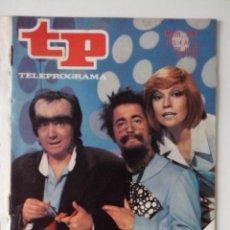 Colecionismo da Revista Teleprograma: REVISTA TP TELEPROGRAMA AÑO 1977 Nº 587 EL MONSTRUO DE SANCHEZTEIN. Lote 276079213