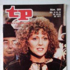 Colecionismo da Revista Teleprograma: REVISTA TP TELEPROGRAMA AÑO 1977 Nº 589 BRENDA VACCARO EN SHARA. Lote 276079408