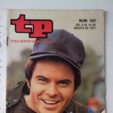 Colecionismo da Revista Teleprograma: REVISTA TP TELEPROGRAMA AÑO 1977 Nº 592 EL GUAPO DE HARRELSON. Lote 276079743