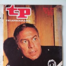 Colecionismo da Revista Teleprograma: REVISTA TP TELEPROGRAMA AÑO 1977 Nº 594 EL CABALLERO DE AZUL. Lote 276079943