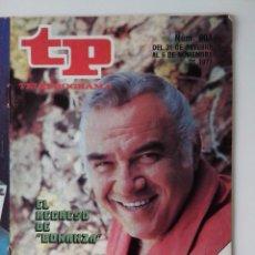 Colecionismo da Revista Teleprograma: REVISTA TP TELEPROGRAMA AÑO 1977 Nº 604 EL REGRESO DE BONANZA. Lote 276081308
