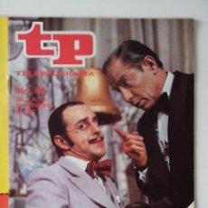 Colecionismo da Revista Teleprograma: REVISTA TP TELEPROGRAMA AÑO 1977 Nº 605 KIKO LEGARD UN DOS TRES. Lote 276081443