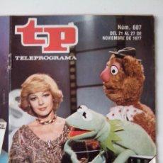 Colecionismo da Revista Teleprograma: REVISTA TP TELEPROGRAMA AÑO 1977 Nº 607 ISABEL TENAILLE. Lote 276081668