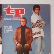 Colecionismo da Revista Teleprograma: REVISTA TP TELEPROGRAMA AÑO 1977 Nº 609 STARKY Y HUTCH. Lote 276081768