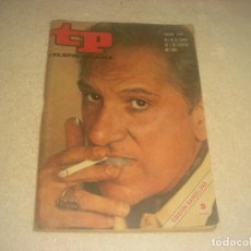 Coleccionismo de Revista Teleprograma: TELEPROGRAMA N. 199 . 1970, EN PORTADA JOSE BODALO.. Lote 276095573