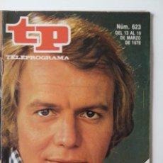 Coleccionismo de Revista Teleprograma: REVISTA TP TELEPROGRAMA AÑO 1978 Nº 623 DAVID SOUL HUTCH. Lote 277136168