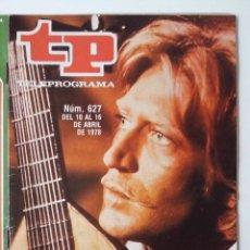 Coleccionismo de Revista Teleprograma: REVISTA TP TELEPROGRAMA AÑO 1978 Nº 627 SIMPLICIUS. Lote 277136508