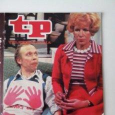 Coleccionismo de Revista Teleprograma: REVISTA TP TELEPROGRAMA AÑO 1979 Nº 691 LOS ROPER. Lote 278525238