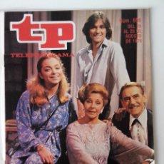Coleccionismo de Revista Teleprograma: REVISTA TP TELEPROGRAMA AÑO 1979 Nº 698 EL SEÑOR VILLANUEVA Y SU GENTE. Lote 278526493