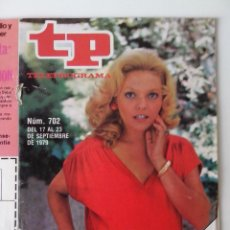 Coleccionismo de Revista Teleprograma: REVISTA TP TELEPROGRAMA AÑO 1979 Nº 702 MAYRA GOMEZ KEMP. Lote 278528408