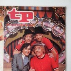 Coleccionismo de Revista Teleprograma: REVISTA TP TELEPROGRAMA AÑO 1979 Nº 707 LOS PAYASOS DE LA TELE. Lote 278528783