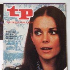 Coleccionismo de Revista Teleprograma: REVISTA TP TELEPROGRAMA AÑO 1980 Nº 722 NATALIE WOOD DE AQUI A LA ETERNIDAD. Lote 278530578