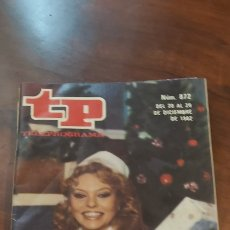 Coleccionismo de Revista Teleprograma: TP 872 AÑO 1982.MAYRA GOMEZ KEMP.PORTADA E INTERIOR.. Lote 278555728