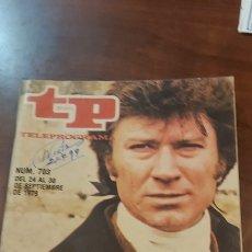 Coleccionismo de Revista Teleprograma: REVISTA TP TELEPROGRAMA Nº 703 AÑO 1979. POLDARK, UN FOLLETON A LA INGLESA.. Lote 278556053