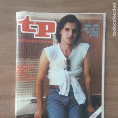 Coleccionismo de Revista Teleprograma: TP TELEPROGRAMA N 687 DEL 4 AL 10 JUNIO 1980 - MIGUEL BOSE CINCO SABADOS EN APLAUSO. Lote 278829803