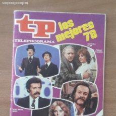 Coleccionismo de Revista Teleprograma: TP. TELEPROGRAMA. Nº 678. LOS MEJORES DEL 78. 2 AL 8 ABRIL 1979. Lote 278830368