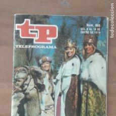 Coleccionismo de Revista Teleprograma: REVISTA TP TELEPROGRAMA Nº 666 LAS TRILLIZAS MAGOS. Lote 278830623