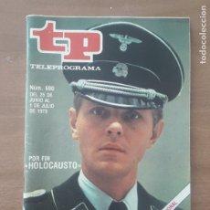 Coleccionismo de Revista Teleprograma: TP TELEPROGRAMA N°690 - POR FIN HOLOCAUSTO, 1979.. Lote 278982963