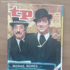 Coleccionismo de Revista Teleprograma: TP. TELEPROGRAMA. Nº 669. TIP Y COLL. 29 ENERO AL 4 FEBRERO 1979.. Lote 279115863