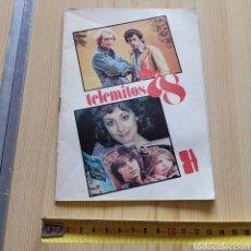 Coleccionismo de Revista Teleprograma: REVISTA TELEMITOS 1978, , REVISTA TELEVISIÓN TP. Lote 280819163