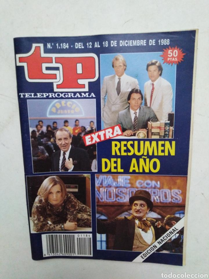 Coleccionismo de Revista Teleprograma: Lote de 10 revistas TELEPROGRAMA ( TP ) años 1988 ,1989 ,1990, 1991, 1992 y 1995 - Foto 2 - 284276113